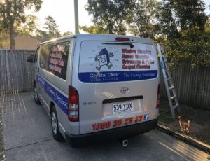 Cleaning Service Van